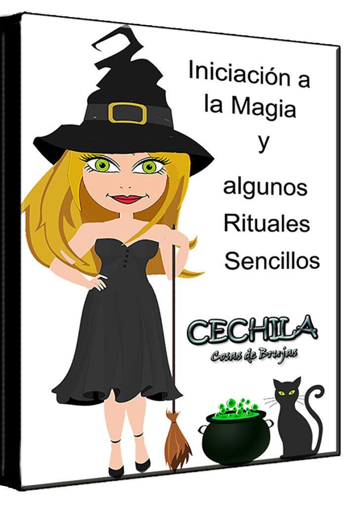 Libro iniciación a la magia Cechila